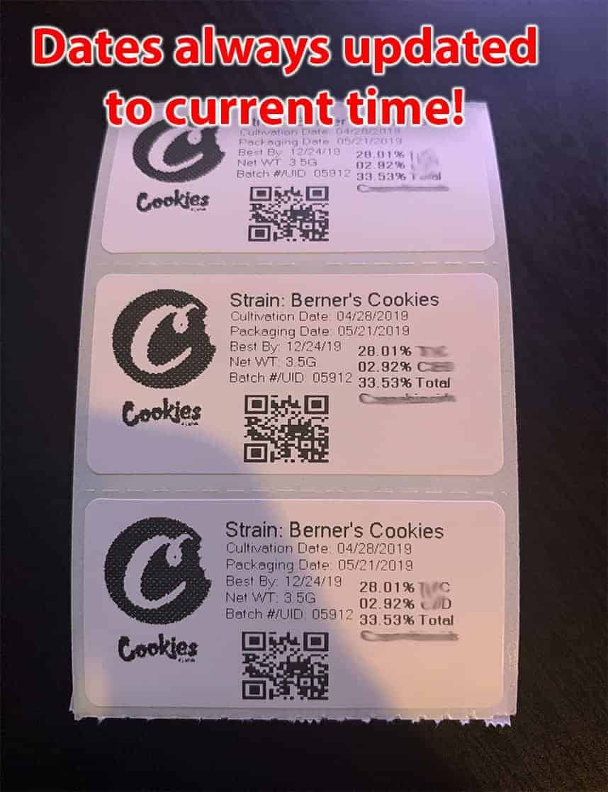 2 1 inch strain labels for cookies bags pretty style with logo loud mylar bags 2x1 inch strain labels for cookies bags pretty style with logo