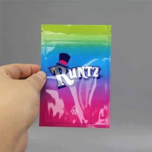 Runtz Brand Mylar Bag 3 5g 8th (Normal Style)