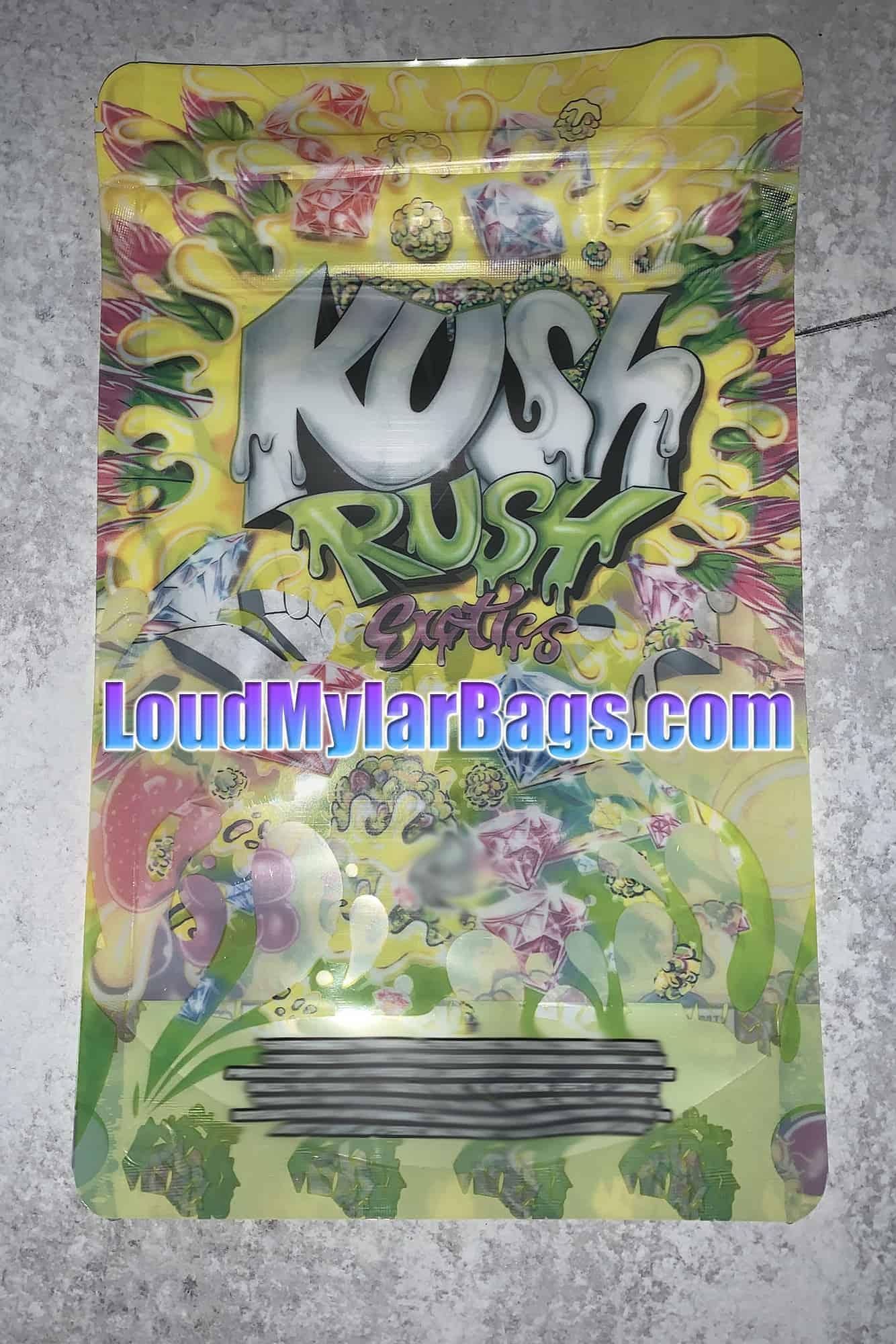 Kush Rush arzător de grăsime)